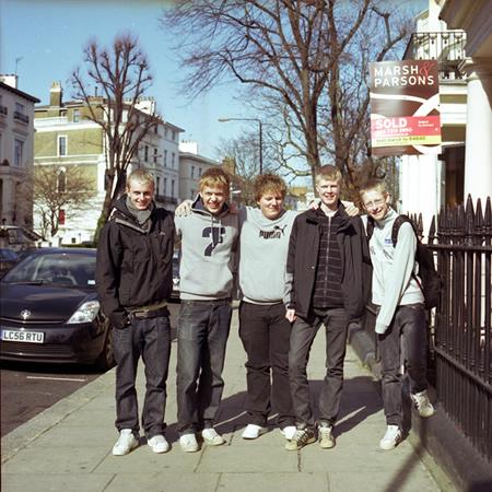 On the street #2, 2008